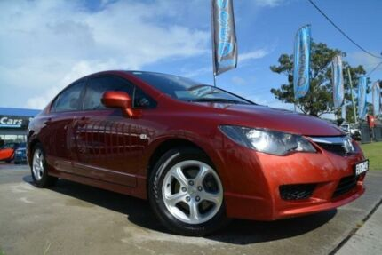 2010 Honda Civic MY10 VTi Burgundy 5 Speed Automatic Sedan Mulgrave Hawkesbury Area Preview