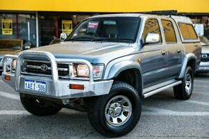 1998 Toyota Hilux LN167R SR5 Silver 5 Speed Manual Utility Edgewater Joondalup Area Preview