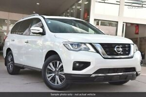 2019 Nissan Pathfinder R52 Series III MY19 Ti X-tronic 2WD White 1 Speed Constant Variable Wagon Chatswood Willoughby Area Preview