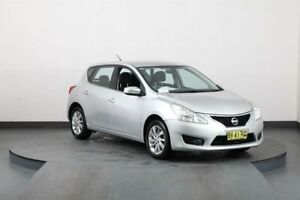 2013 Nissan Pulsar C12 ST Silver Continuous Variable Hatchback