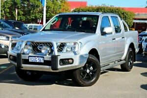 2013 Nissan Navara D40 S6 MY12 ST Silver 6 Speed Manual Utility Midland Swan Area Preview