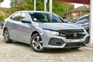 2019 Honda Civic 10th Gen MY19 VTi Sonic Grey 1 Speed Constant Variable Hatchback Wyoming Gosford Area Preview