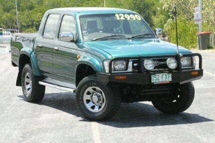 2000 Toyota Hilux LN167R SR5 Green 5 Speed Manual Utility