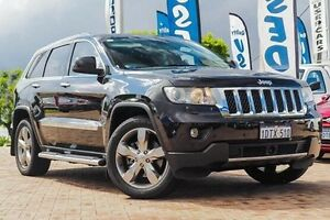 2011 Jeep Grand Cherokee WK MY2011 Overland Black 5 Speed Sports Automatic Wagon Embleton Bayswater Area Preview