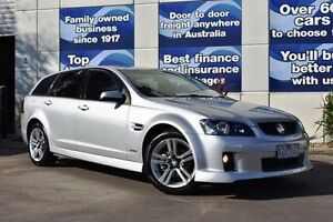 2010 Holden Commodore VE MY10 SV6 Sportwagon Silver 6 Speed Sports Automatic Wagon Epping Whittlesea Area Preview