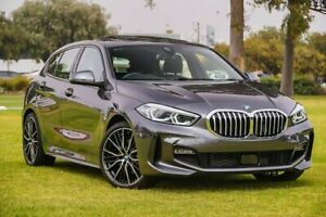 2020 BMW 1 Series F40 118i DCT M Sport Grey 7 Speed Sports Automatic Dual Clutch Hatchback Burswood Victoria Park Area Preview