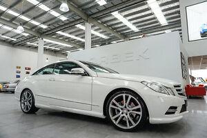 2013 Mercedes-Benz E250 207 MY13 CDI Avantgarde Calcite White 5 Speed Automatic Coupe Port Melbourne Port Phillip Preview