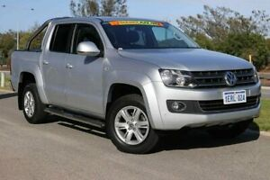 2015 Volkswagen Amarok 2H MY15 TDI420 4Motion Perm Highline Reflex Silver 8 Speed Automatic Utility Clarkson Wanneroo Area Preview