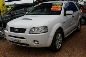 2006 Ford Territory SY Turbo AWD Ghia White 6 Speed Sports Automatic Wagon Colyton Penrith Area Preview