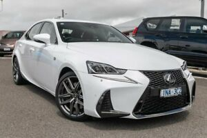 2019 Lexus IS GSE31R IS350 F Sport White 8 Speed Sports Automatic Sedan Dandenong Greater Dandenong Preview