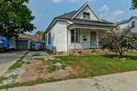 3 bed 1 bath One Floor Home with Detached Garage & Private Yard