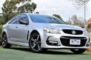 2016 Holden Commodore VF II MY16 SV6 Black Silver 6 Speed Sports Automatic Sedan Berwick Casey Area Preview