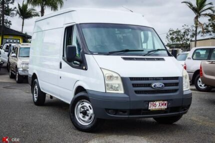 2010 Ford Transit VM Mid Roof MWB White 6 Speed Manual Van Archerfield Brisbane South West Preview