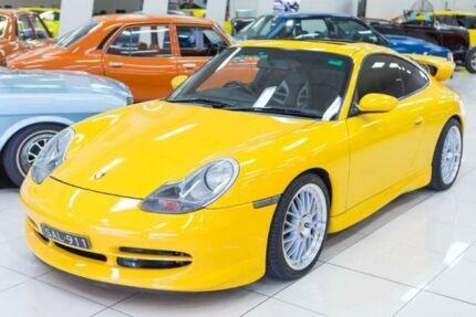 2000 Porsche 911 Carrera Speed Yellow 6 Speed Manual Coupe Carss Park Kogarah Area Preview