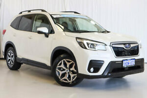 2019 Subaru Forester S5 MY19 2.5i CVT AWD White 7 Speed Constant Variable Wagon Wangara Wanneroo Area Preview