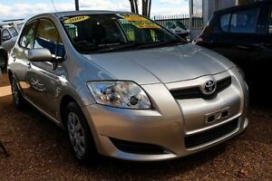 2009 Toyota Corolla ZRE152R Ascent Silver 4 Speed Automatic Hatchback Minchinbury Blacktown Area Preview