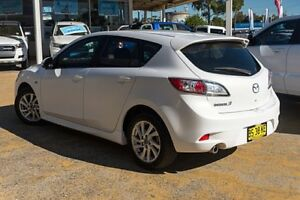 2012 Mazda 3 BL10F2 MY13 Maxx Activematic Sport White 5 Speed Sports Automatic Hatchback Greenacre Bankstown Area Preview