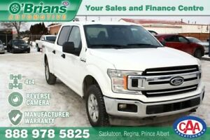 2018 Ford F-150 XLT w/Mfg Warranty, 4x4
