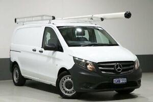 2017 Mercedes-Benz Vito 447 119 BlueTEC SWB White 7 Speed Automatic Van