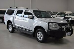 2013 Holden Colorado RG MY13 LX Crew Cab Silver 6 Speed Sports Automatic Utility Kenwick Gosnells Area Preview