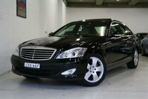 2006 Mercedes-Benz S-Class W221 S350 Black 7 Speed Automatic Sedan Castle Hill The Hills District Preview