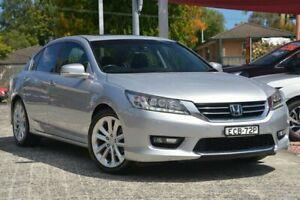 2014 Honda Accord 60 VTi-L Silver 5 Speed Automatic Sedan