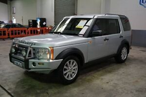 2008 Land Rover Discovery 3 Series 3 08MY HSE Silver 6 Speed Sports Automatic Wagon Old Guildford Fairfield Area Preview