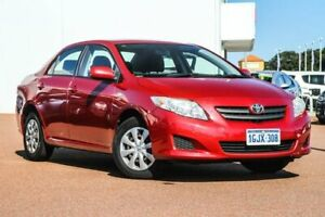 2007 Toyota Corolla ZRE152R Ascent Red 4 Speed Automatic Sedan Rockingham Rockingham Area Preview