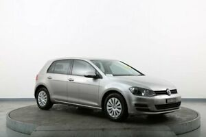 2013 Volkswagen Golf AU 90 TSI Silver 7 Speed Auto Direct Shift Hatchback