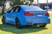 2014 BMW M3 F80 M-DCT Blue 7 Speed Sports Automatic Dual Clutch Sedan Victoria Park Victoria Park Area Preview