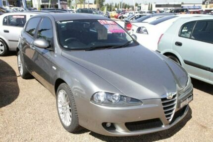 2005 Alfa Romeo 147 2.0 Twin Spark Grey 5 Speed Manual Hatchback Minchinbury Blacktown Area Preview
