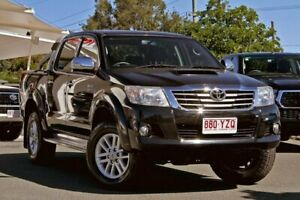 2014 Toyota Hilux KUN26R MY14 SR5 Double Cab Black 5 Speed Automatic Utility Noosaville Noosa Area Preview