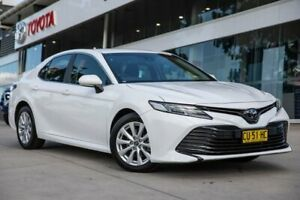 2019 Toyota Camry ASV70R Ascent White 6 Speed Sports Automatic Sedan Castle Hill The Hills District Preview