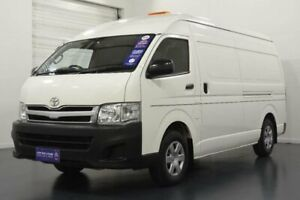 2013 Toyota HiAce TRH221R MY12 Upgrade SLWB French Vanilla 4 Speed Automatic Van Oakleigh Monash Area Preview