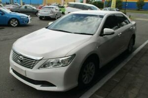 2013 Toyota Aurion GSV50R AT-X White 6 Speed Sports Automatic Sedan Bungalow Cairns City Preview