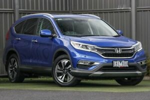 2016 Honda CR-V RM Series II MY17 VTi-L 4WD Blue 5 Speed Sports Automatic Wagon Wantirna South Knox Area Preview
