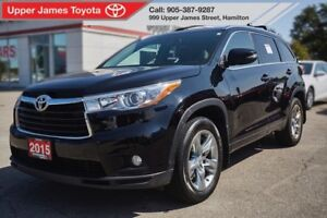 2015 Toyota Highlander Limited - Top of the Line!