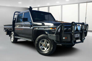 2015 Toyota Landcruiser VDJ79R MY12 Update GXL (4x4) Graphite 5 Speed Manual Double Cab Chassis Dalby Dalby Area Preview
