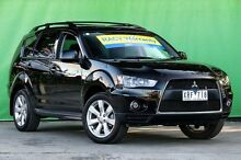 2010 Mitsubishi Outlander ZH MY10 Activ Black 6 Speed CVT Auto Sequential Wagon Ringwood East Maroondah Area Preview
