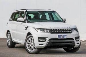 2014 Land Rover Range Rover Sport L494 15.5MY TdV6 CommandShift SE White 8 Speed Sports Automatic