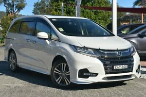 2018 Honda Odyssey RC MY19 VTi-L Platinum White 7 Speed Constant Variable Wagon Wyoming Gosford Area Preview