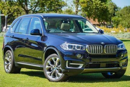 2017 BMW X5 F15 xDrive30d Blue 8 Speed Sports Automatic Wagon