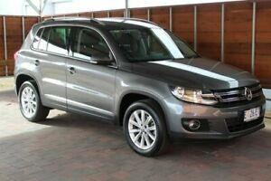 2014 Volkswagen Tiguan 5N 132TSI Grey Sports Automatic Dual Clutch Glebe Hobart City Preview