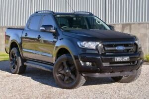 2017 Ford Ranger PX MkII FX4 Double Cab Black 6 Speed Manual Utility Wyong Wyong Area Preview