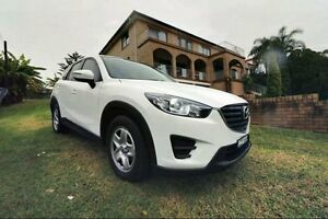 2015 Mazda CX-5 White Automatic Wagon Haymarket Inner Sydney Preview