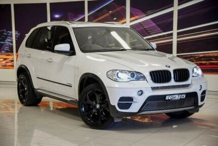2013 BMW X5 E70 MY1112 xDrive30d Steptronic White 8 Speed Sports Automatic Wagon