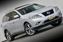 2015 Nissan Pathfinder R52 MY15 Ti X-tronic 4WD Silver 1 Speed Constant Variable Wagon Ferntree Gully Knox Area Preview
