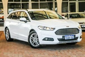 2018 Ford Mondeo MD 2018.25MY Ambiente SelectShift White 6 Speed Sports Automatic Wagon Melville Melville Area Preview