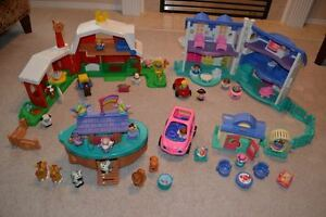 Fisher Price Little People Sets: House, Farm, Noah's Ark & More