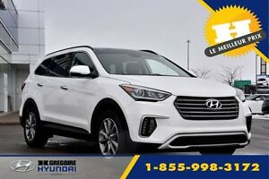2017 Hyundai Santa Fe XL 3.3L AWD LUXURY 6 PLACES CUIR TOIT PANO